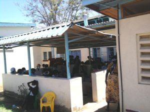 TB Waiting Room in Kenya