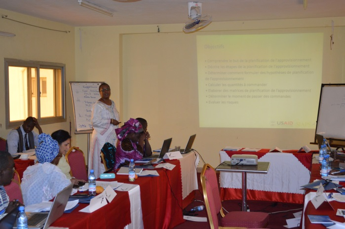 Presentation at the workshop