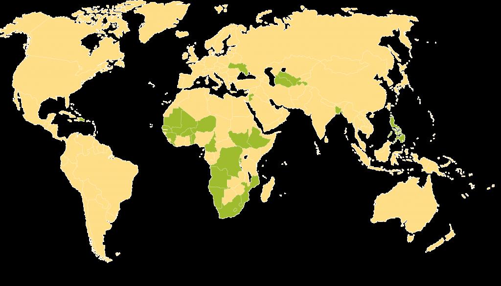 SIAPS Map