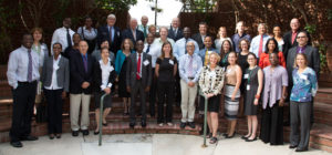 "Representatives from USAID, WHO/PAHO, Boston University, SIAPS, and SIAPS partners during the ""Consultative Meeting for Defining and Measuring Pharmaceutical Systems Strengthening"" held in Arlington on September 11-12, 2014 with support from USAID/SIAPS.  Photo credit: Ian Sliney"